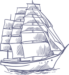 Logo vom Kapitänshaus Trost in Lohme auf Rügen