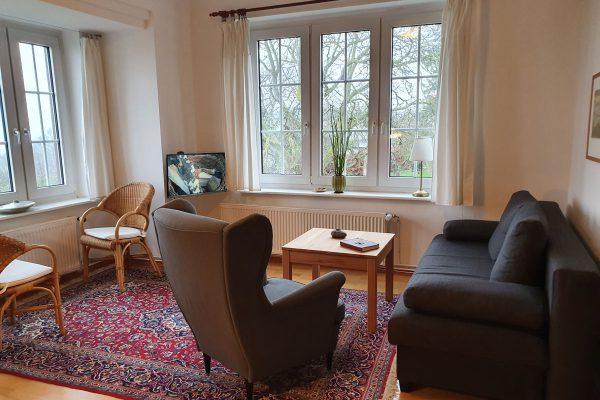 Ferienwohnung mit Meerblick im Kapitänshaus Trost in Lohme auf Rügen