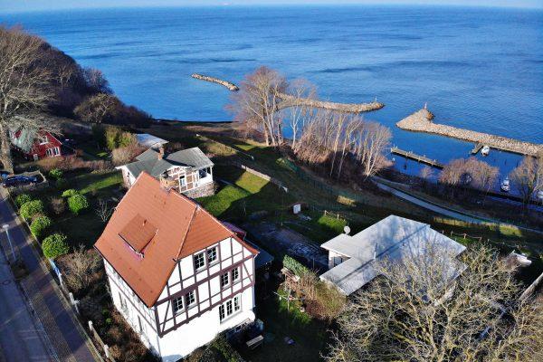 Ferienwohnung im Kapitänshaus Trost in Lohme auf Rügen