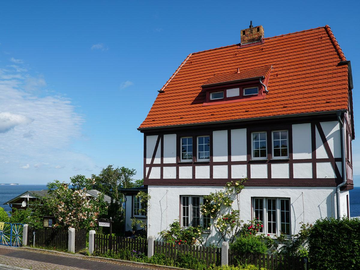 Urlaub im Kapitänshaus Trost in Lohme auf Rügen
